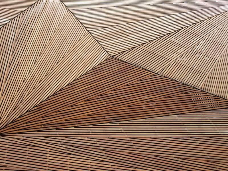 Ξύλινο αρχιτεκτονικό σχέδιο